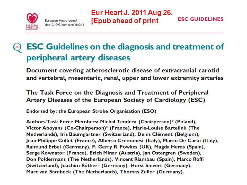 Eur Heart J. 2011 Aug 26. [Epub ahead of print